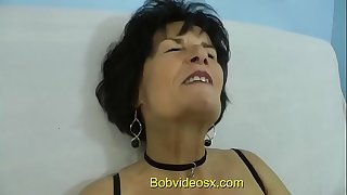 Eliane 71 years ass fucked by a youthfull captured
