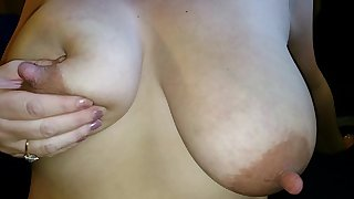 COMMENT! Celebrate and TRIBUTE these phat tits and lengthy nipples! Pass her around and jizz all over her!