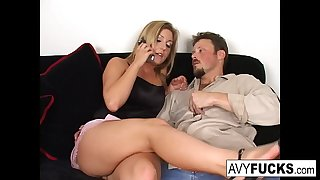 Avy Scott, Alexis, and Van Damage all get some powerful orgasms