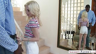Little Teen Spinner Piper Perri Fucks At the Office