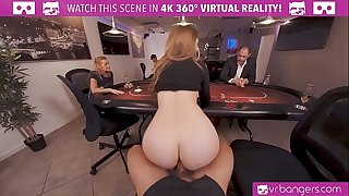 VRBangers.com-Busty babe is fucking firm in this agent VR pornography parody